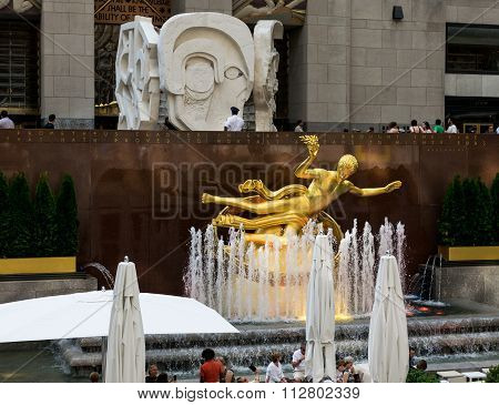 New York City Rockefeller Plaza