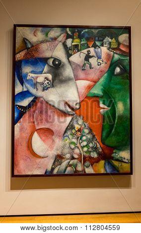 New York City MOMA - Marc Chagall