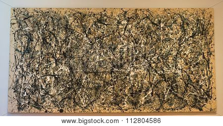 New York City MOMA - Jackson Pollock