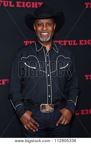 LOS ANGELES - DEC 07:  James Pickens Jr. arrives to the