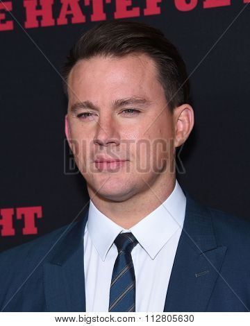 LOS ANGELES - DEC 07:  Channing Tatum arrives to the