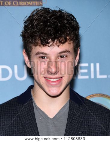 LOS ANGELES - DEC 09:  Nolan Gould arrives to the Cirque du Soleil's
