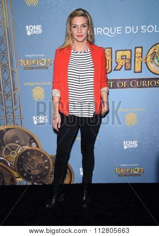 LOS ANGELES - DEC 09:  Rhea Seehorn arrives to the Cirque du Soleil's