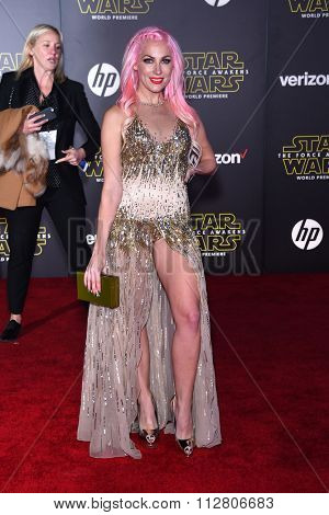 LOS ANGELES - DEC 14:  Bonnie McKee arrives to the