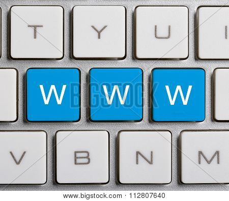 Www On Keyboard