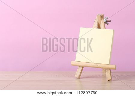 Sticky Note Book With Pink Background