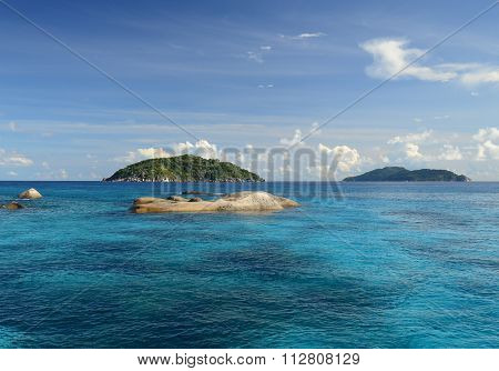 Similand Islands, Thailand