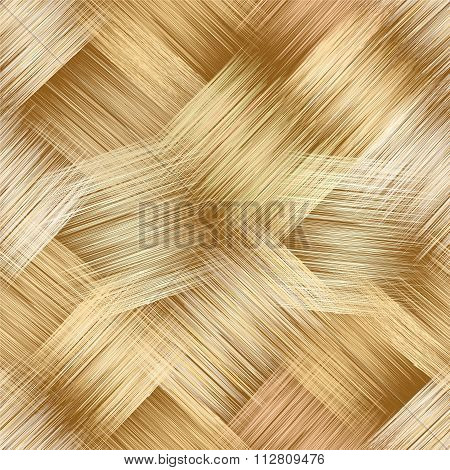 Seamless Pattern With Grunge Striped Square Elements In Yellow,brown,white Colors For Web Design