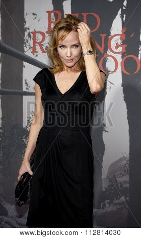 HOLLYWOOD, CALIFORNIA - March 7, 2011. Rebecca De Mornay at the Los Angeles premiere of