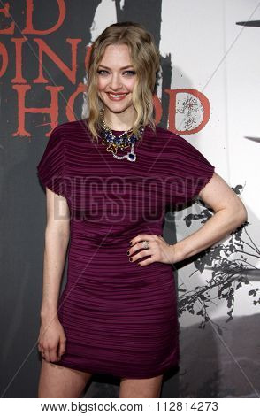 HOLLYWOOD, CALIFORNIA - March 7, 2011. Amanda Seyfried at the Los Angeles premiere of