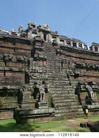 Pyramid, Angkor Wat, Cambodian