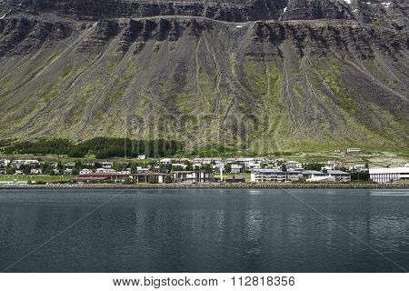 Scenic landscape in Reykjavik, Iceland