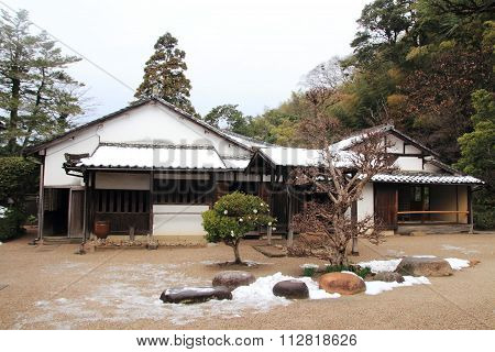 Samurai residence in Shiomi nawate Matsue Japan