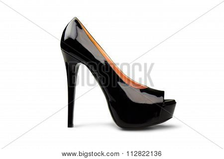 Black Female Shoe