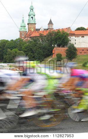 Poland, Krakow, Bike Race