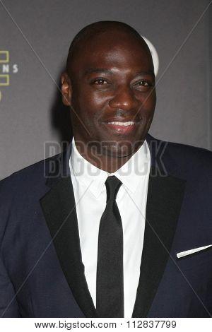 LOS ANGELES - DEC 14:  Adewale Akinnuoye-Agbaje at the