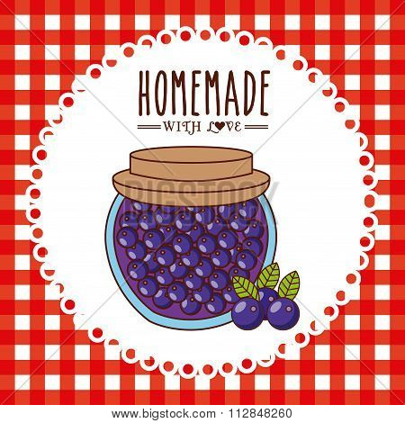 homemade jam design