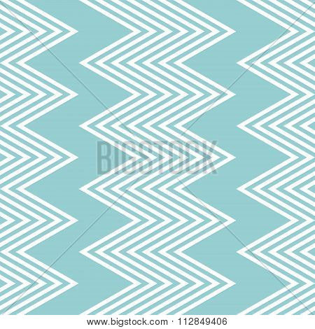 Elegant Seamless Pattern Of White And Blue Vertical Zigzag