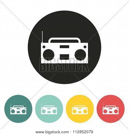 Tape Recorder Icon.