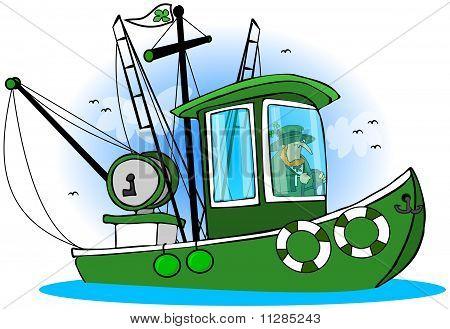 Leprechaun Fishing Boat