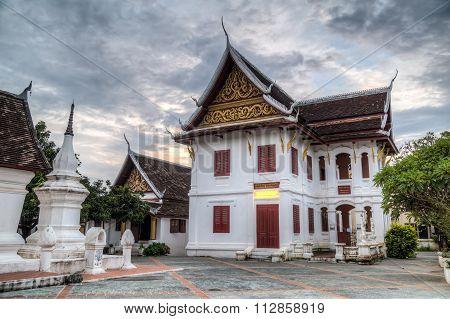 Luang Prabang, Laos - Circa August 2015: Wat Kili Temple In Luang Prabang,  Laos