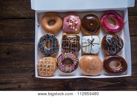 Dozen Artisan Donuts In Box