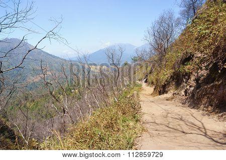 Beautiful hiking trail