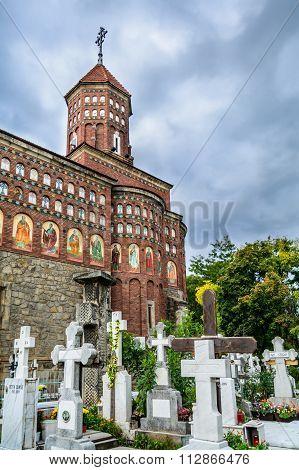 Bucharest, Romania - November, 10: Silver Knife Church On November 10, 2015 In Bucharest, Romania. B