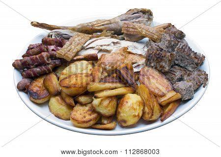 Roast Dinner Serving Platter