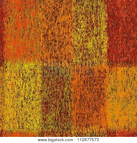 Seamless Cloth Geometric Vertical Pattern With Colorful Weave Rectangular Elements