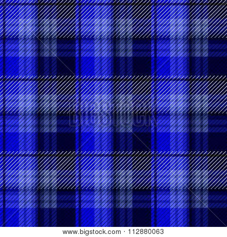 Blue Tartan Plaid Background