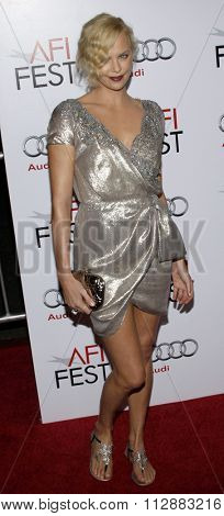 Charlize Theron at the AFI FEST 2009 Screening of