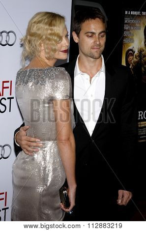 Charlize Theron and Stuart Townsend at the AFI FEST 2009 Screening of