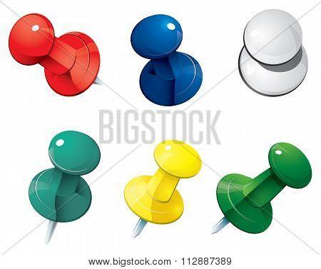 Push Pin Thumbtack