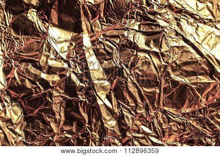 Gold Cellophane