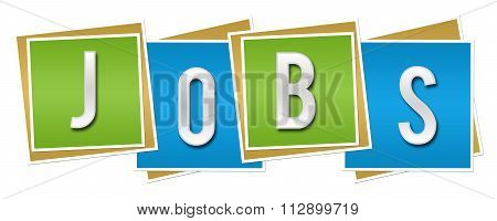 Jobs Blue Green Blocks
