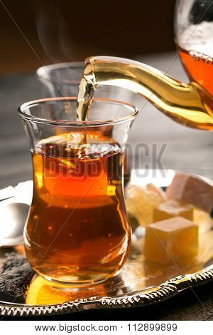Turkish Tea On The Table