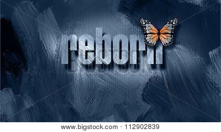 Christian Reborn With Butterfly