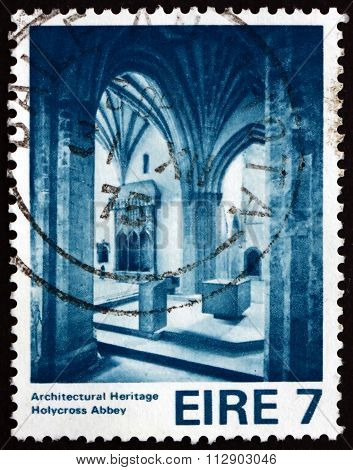 Postage Stamp Ireland 1975 Holy Cross Abbey