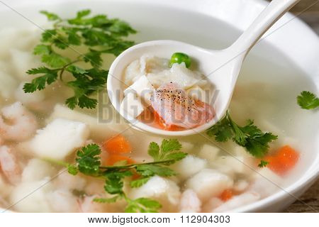 Chinese Fish Soup Ready To Eat