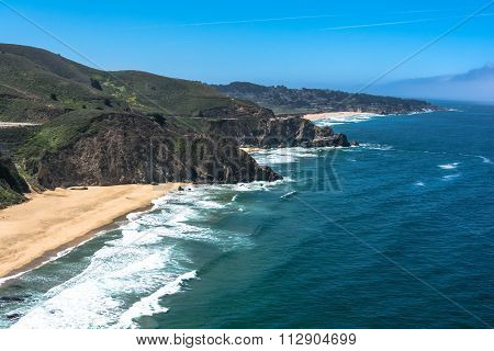 Gray Whale Cove State Beach, California