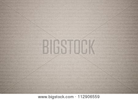 Brown Paper Corrugated Sheet Board Surface