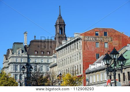 Montreal City Hall and Maison Cartier, Quebec, Canada