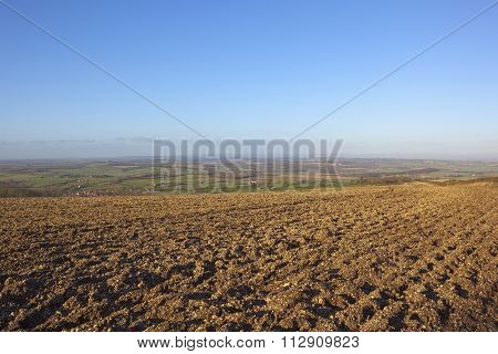 Hillside Plow Soil With A View