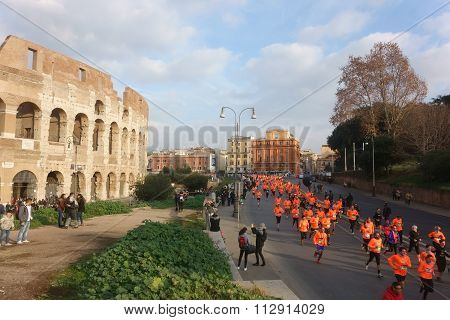 We Run Rome Mini-marathon