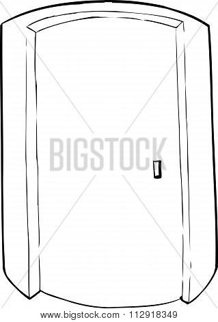 Outlined Cylindrical Elevator