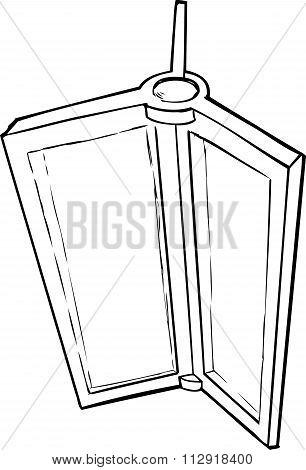 Cartoon Of Revolving Door Part