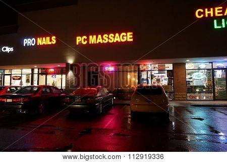 PC Massage at Night