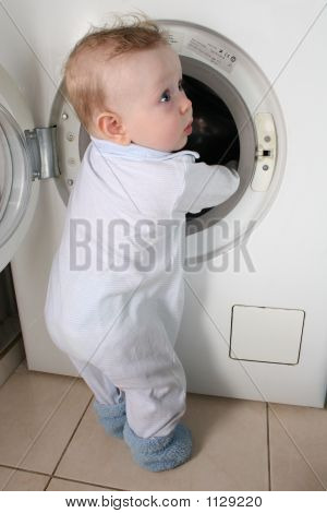Baby With Washer