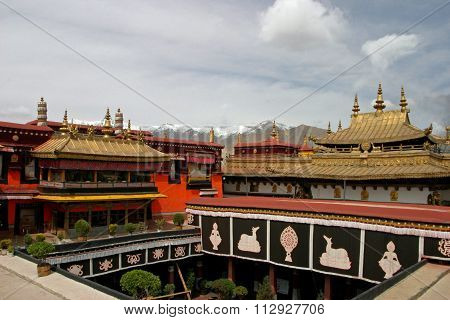 Jokhang temple in Tibet People's Republic of China
